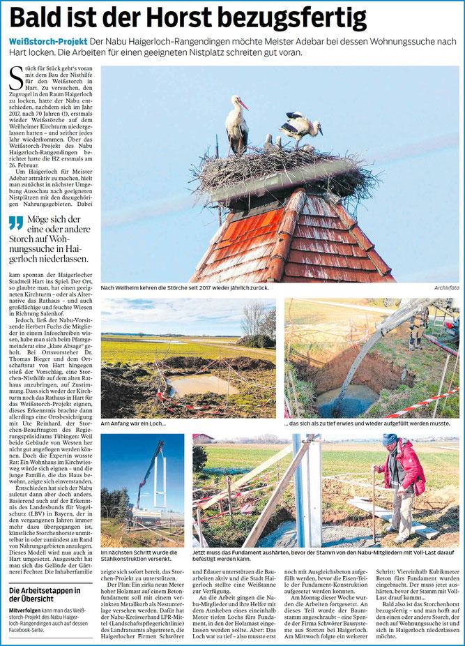 Hohenzollerische Zeitung, 03.04.2020