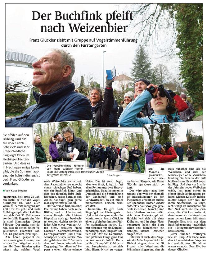Schwarzwälder Bote, 18.04.2019