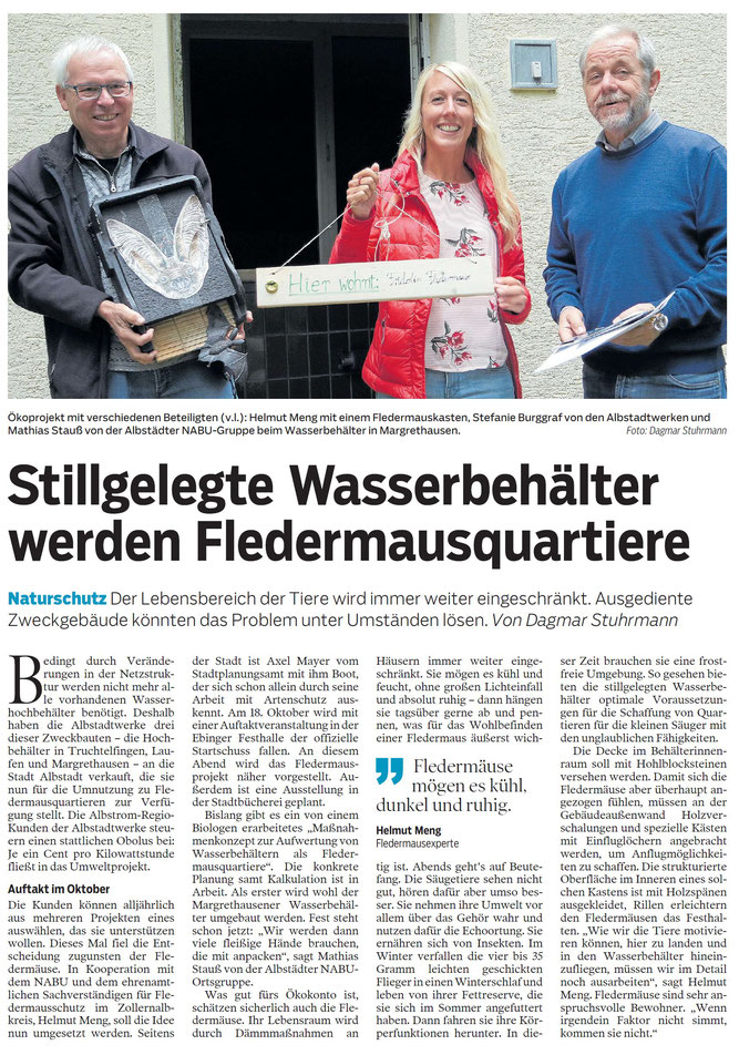 Zollern-Alb-Kurier Albstadt - 06. September 2018