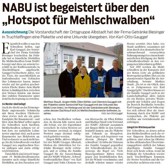 Zollern-Alb-Kurier, 30.12.2019