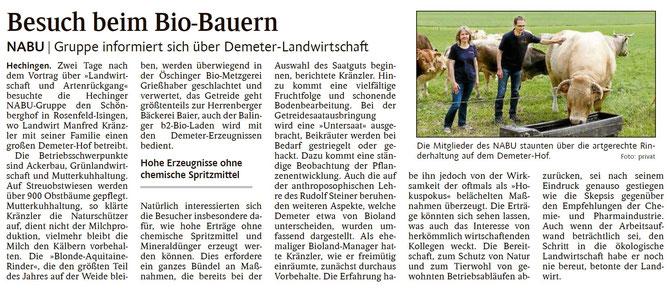 Schwarzwälder Bote, 23.05.2019