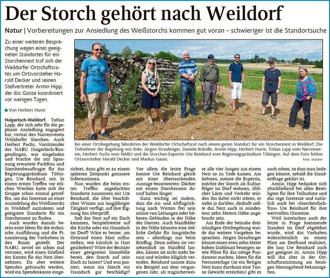 Schwarzwälder Bote, 03.08.2020