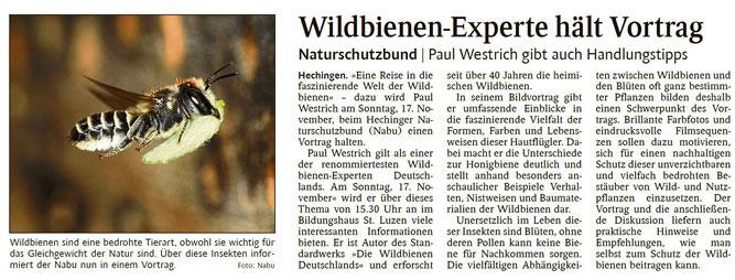 Schwarzwälder Bote, 05.11.2019
