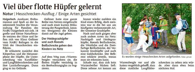 Schwarzwälder Bote, 02.08.2019