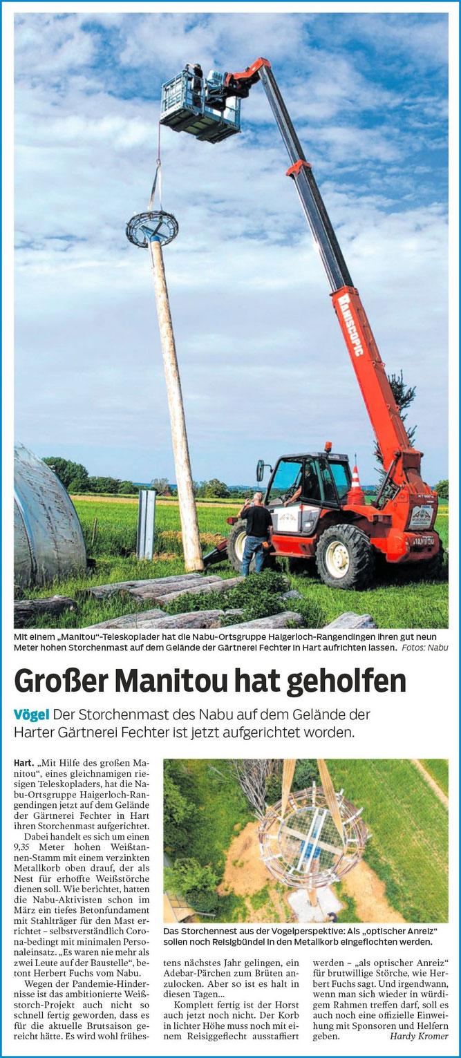 Hohenzollerische Zeitung, 19.06.2020