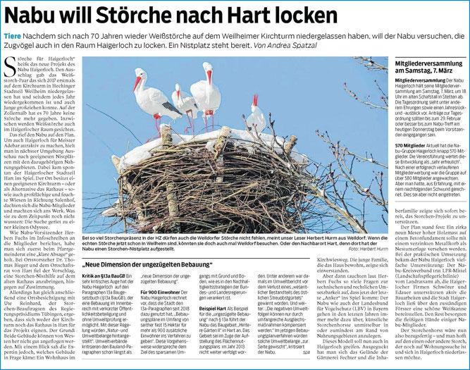 Hohenzollerische Zeitung, 27.02.2020