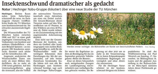 Schwarzwälder Bote, 07.11.2019