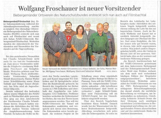Artikel aus der  Gelnhäuser Neuen Zeitung