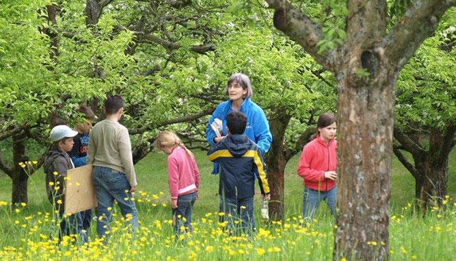 Unsere Kinder- und Jugendgruppe in Aktion. Foto: NABU/ Nicole Simon
