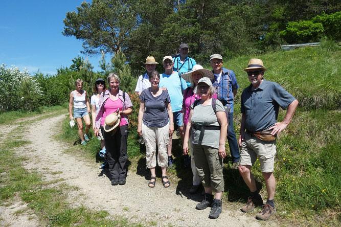 11 Teilnehmer auf dem Bild  Foto: Wolfgang Steiger