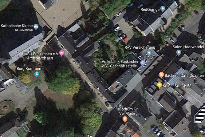 Zum NABU Kirchberghaus  Aufnahme: Google Maps