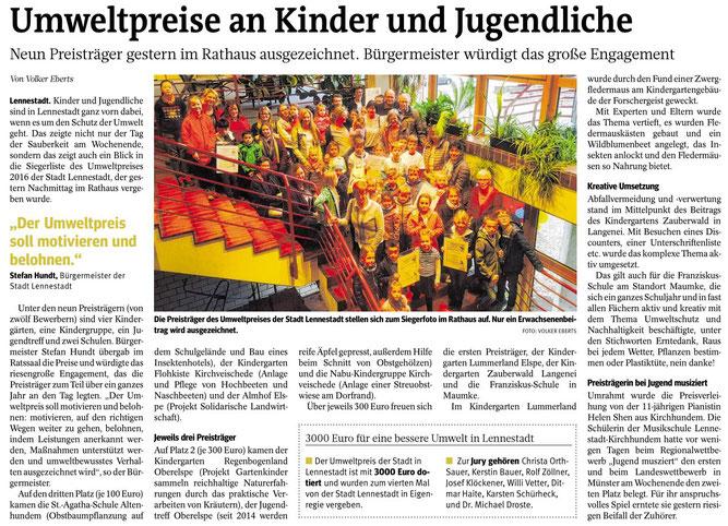 Westfalenpost 30.03.2017