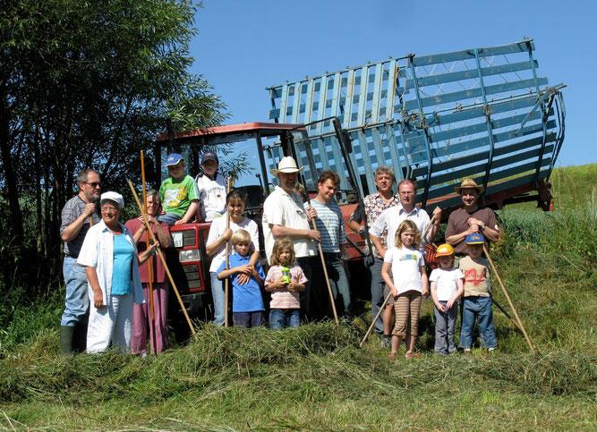 Ehrenamtliche packen an für die Natur. Foto: NABU/BUND Oberndorf-Sulz