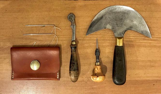 handgeflochtene Lederarmbänder vegetabil gegerbtes Leder mystery or trick braid