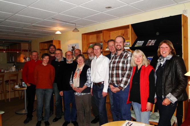 Mitglieder des NABU Regionalverbands Ostfriesland
