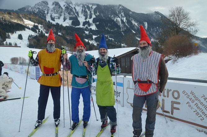 Andreas Prokop, Stefan Köberle, Fabian Häusler, Lothar Köberle