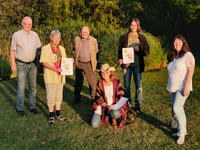 Das Vorstandsteam des NABU Rhein-Sieg beim Start der Volksinitiative im Rhein-Sieg-Kreis