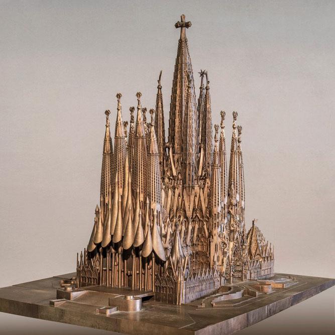 Макет Храма Святого Семейства в Барселоне