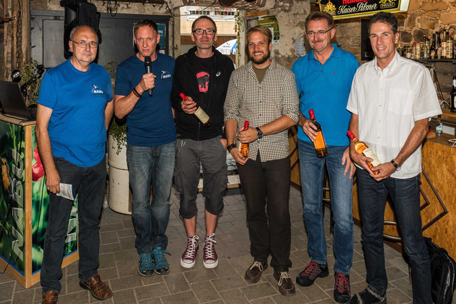 Die Referenten (von links): Dipl. Biol. Peter Fasel, Marcel Weidefeller, Wolfgang Burens, Dipl.-Biol. Philipp Schiefenhövel, Joachim Kuchinke, Prof. Dr. Klaus Fischer (Fotos: Martin Dietz)