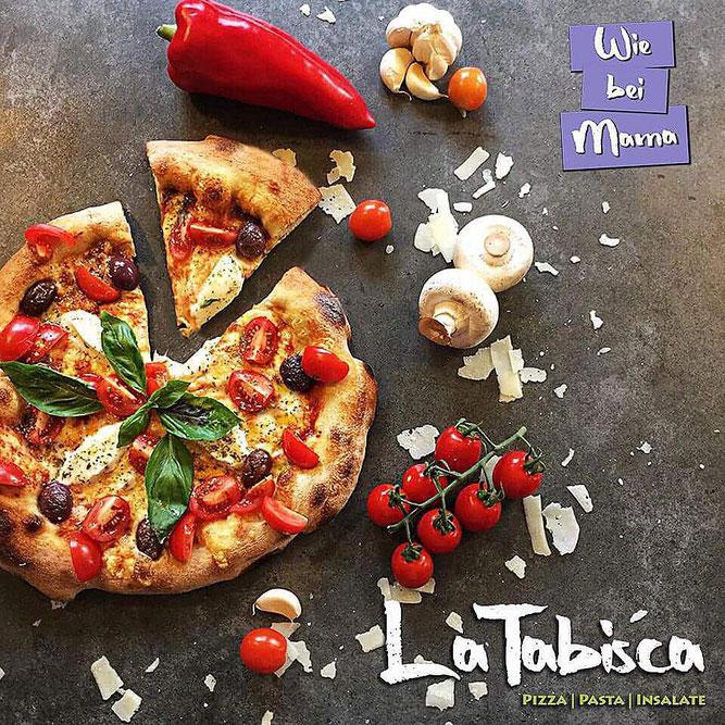 Unsere leckeren Pizzen original nach Mama´s Rezept..