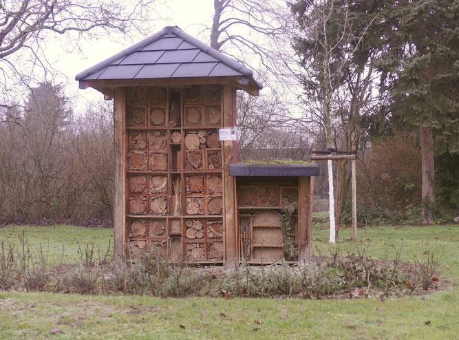 Wildbienenhaus im Marienburgpark