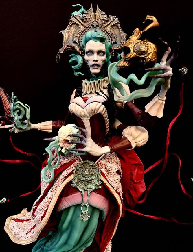 Ellianastis: The Great Oracle 1/4 Premium Format Court of the Dead 62cm Statue Sideshow