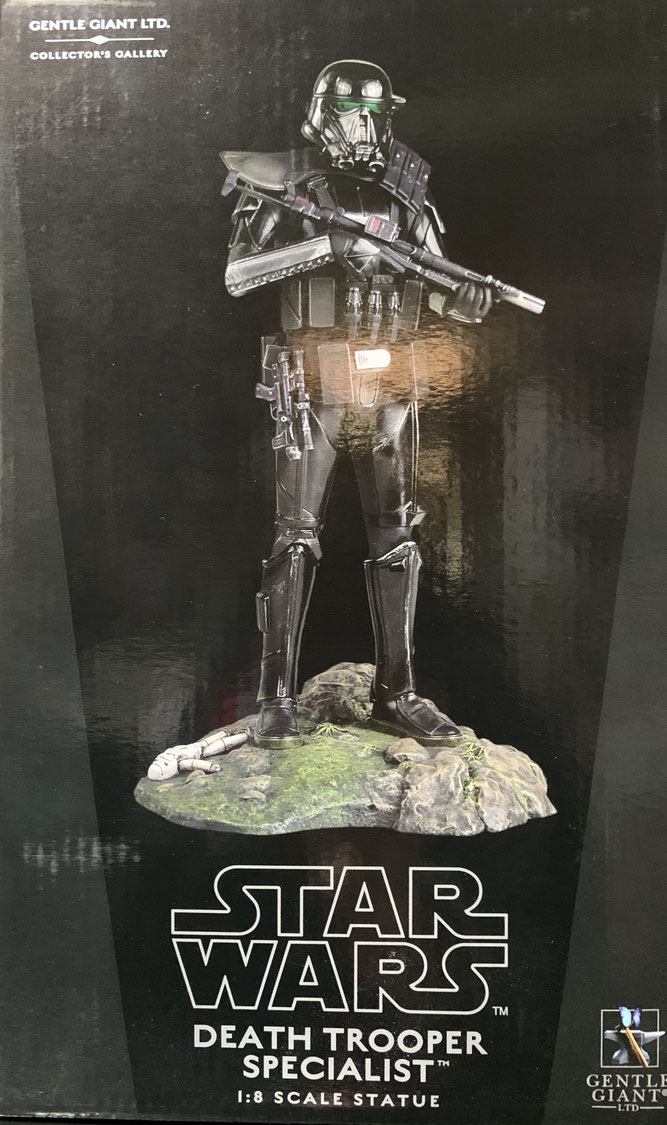 Death Trooper Specialist 1/8 Star Wars Rogue One Collectors Gallery Statue Resin 27cm Gentle Giant