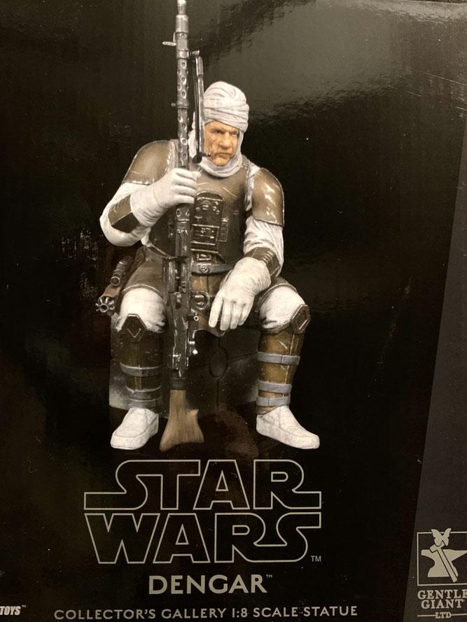 Dengar 1/8 Star Wars Bountyhunter Collectors Gallery Resin Statue 20cm Gentle Giant
