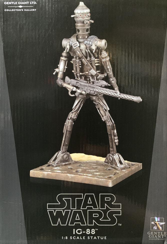 IG-88 Bountyhunter 1/8 Star Wars Collectors Gallery Statue Resin 24cm Gentle Giant