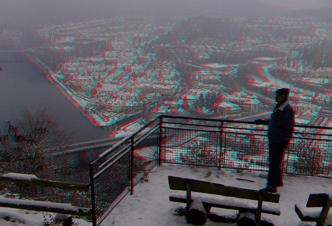 Aussichtshütte über Neckargemünd