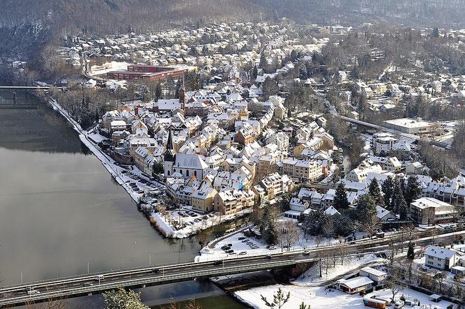 Zwei-Flüsse-Stadt Neckargemünd
