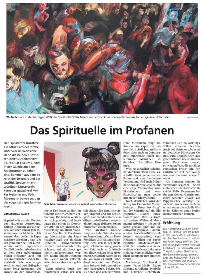 aus: Der Patriot, 14.02.2019