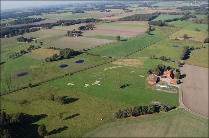 Das Projektgebiet - Foto: NABU Sulingen