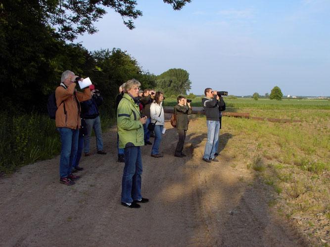 Auf einer unserer Exkursionen, Foto: NABU Sulingen/Udo Sakuth