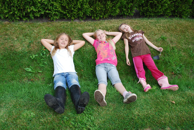 Kinder auf dem NABU Woldenhof