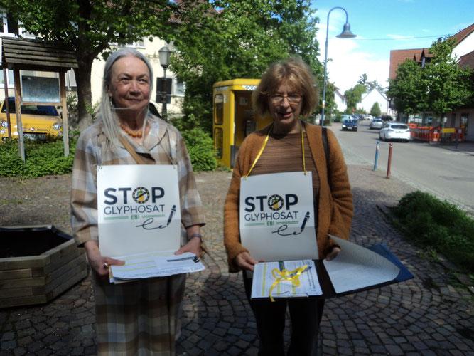 Unterschriftenaktion gegen Glyphosat, Foto: Niemann-Khaliefi