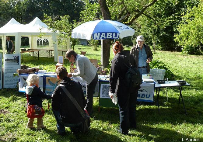 Infostand Dahlienfest 2012