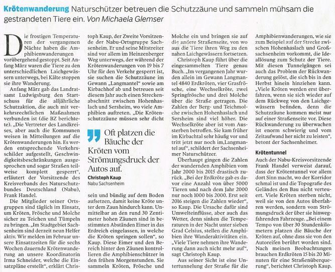 Bietigheimer Zeitung vom 21.03.2018