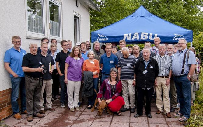 Die NABU-Gruppen der RGS Weserbergland. - Foto: Kathy Büscher