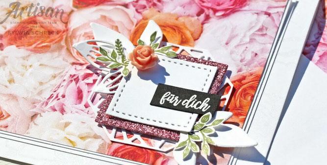 Blütenzauber-Blumige Karte mit Stampin Up