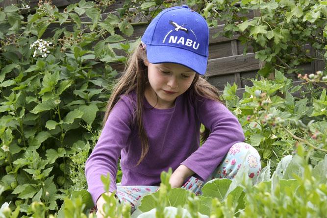 Naturforscher-Broschüe und Forscher-Rucksack begleiten Kinder durch die Ferien.     Foto: NABU/Christine Kuchem