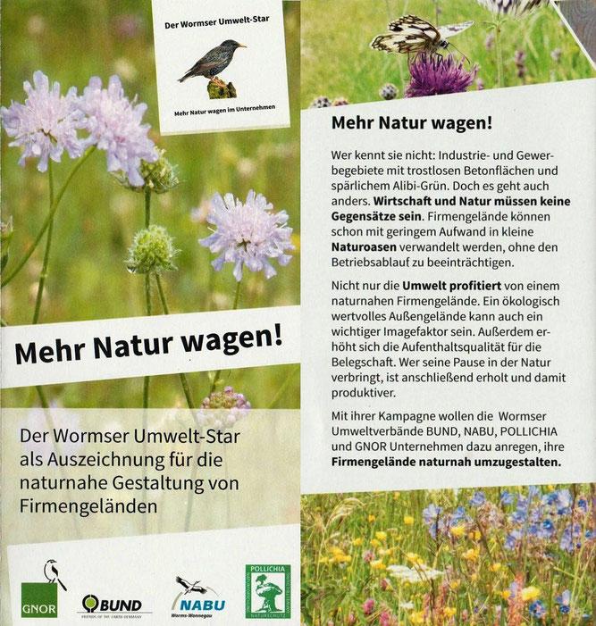 Mehr Natur wagen - NABU Worms-Wonnegau