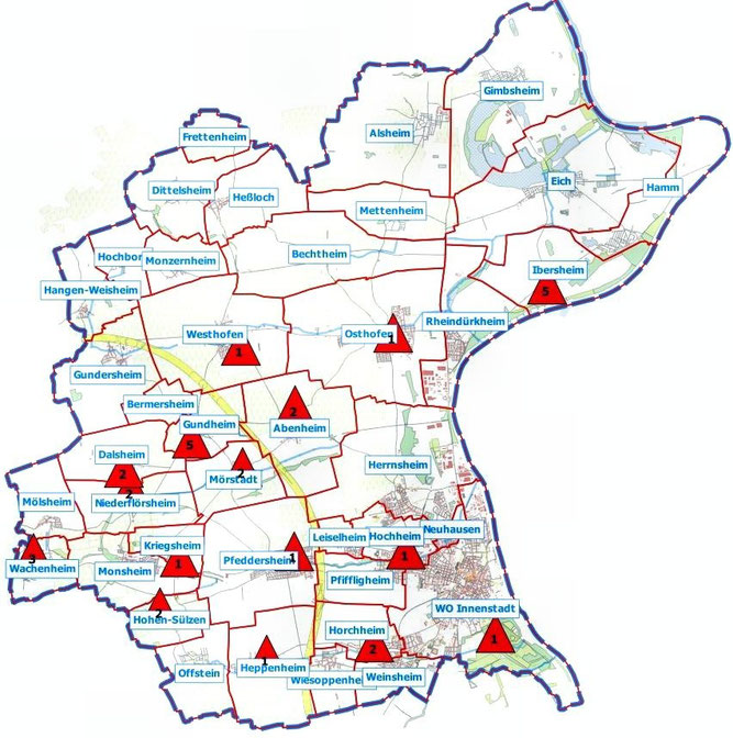 Übersicht, Karte Udo, OSM