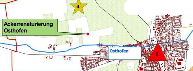Karte Udo, OSM