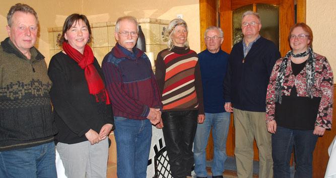 Foto (privat): Der neu gewählte Vorstand des NABU Bad Buchau-Federsee
