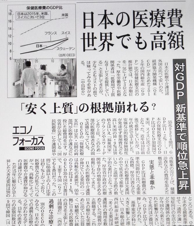 日本の医療費は高額