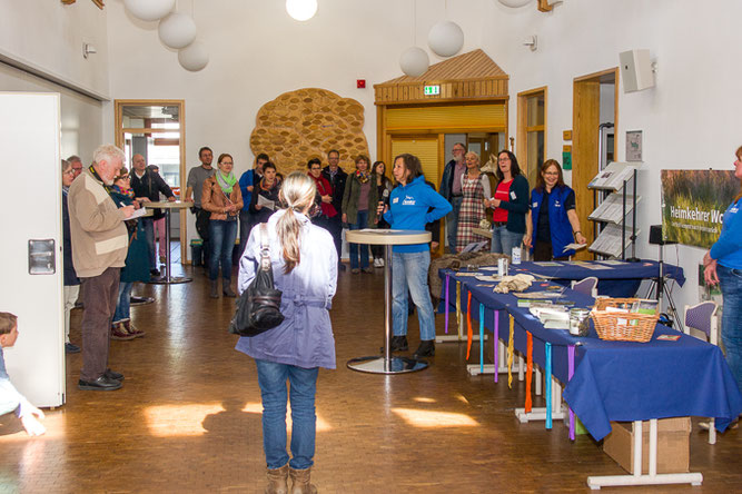 Eröffnung des Tag des Wolfes; Foto: Tammo Zelle