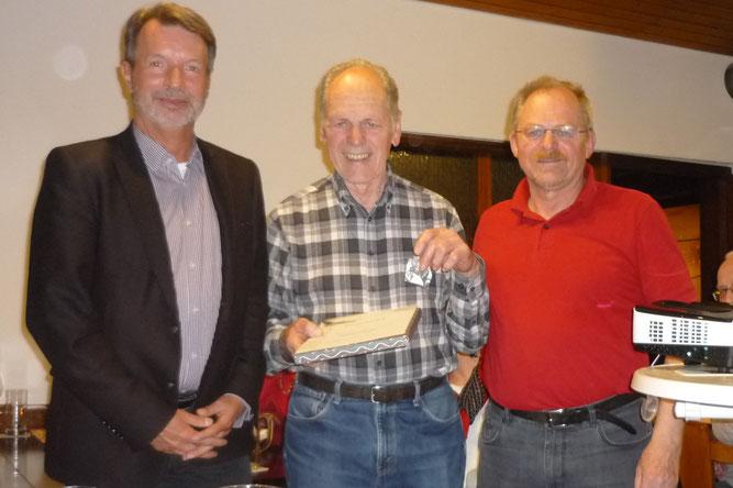 Werner Seyfried 50 Jahre DBV/NABU Gratulation Foto NABU