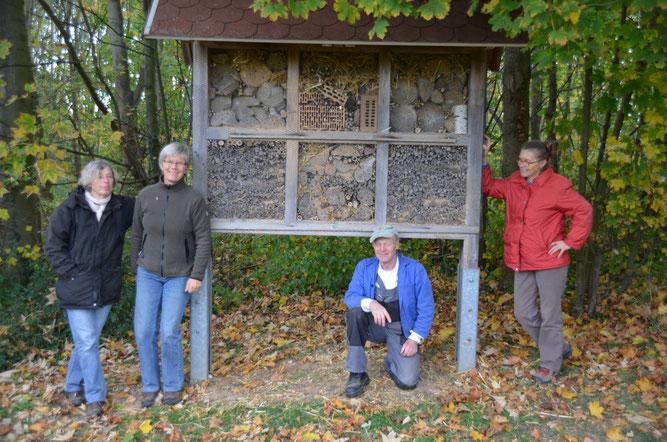 (von links nach rechts): Christine Börner, Sigrun Aust-Job, Bernd Baldauf, Elke Endlich | Foto: Roswitha Pitsch