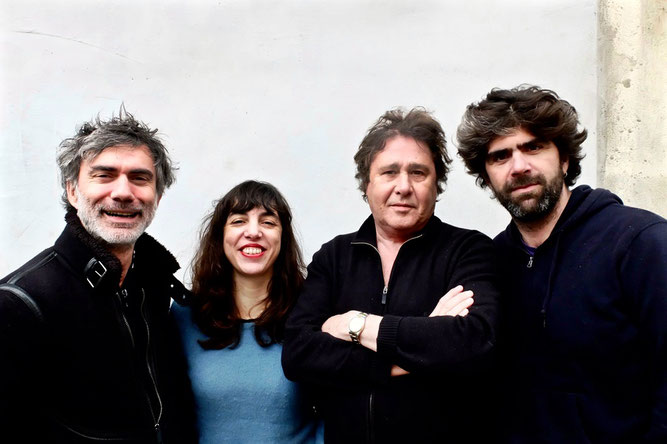 Christophe Lavergne, Sarah Murcia, Louis Sclavis, Benjamin Moussay : Characters on a wall